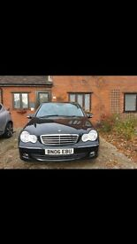 Mercedes-Benz 1.8, Black, Full Service History and 1 years MOT