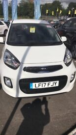 Beautiful white Kia Picanto looking for a new home.