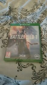 xbox one game battlefield 1