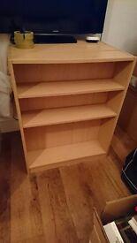 Argos baby bookcases in beech