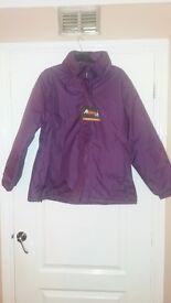 New Alpine Waterproof jacket size large