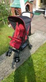 Hauck pushchair stroller pram