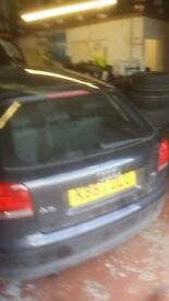 breaking audi a3 1.6 petrol.... engine code BSE .... all parts available