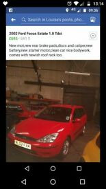New mot, very clean car and bodywork,