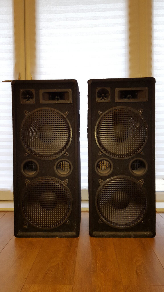 PA Speakers 1000Watt - Omnitronic DX-2222