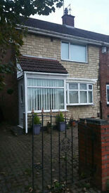 2 bedroom fully furnished house for rent in Grindon Sunderland
