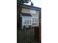 2 bedroom fully furnished house for rent in Grindon Sunderland