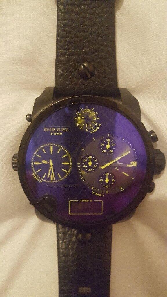 Diesel mens mr daddy chronograph watch