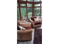 Rattan conservatory furniture