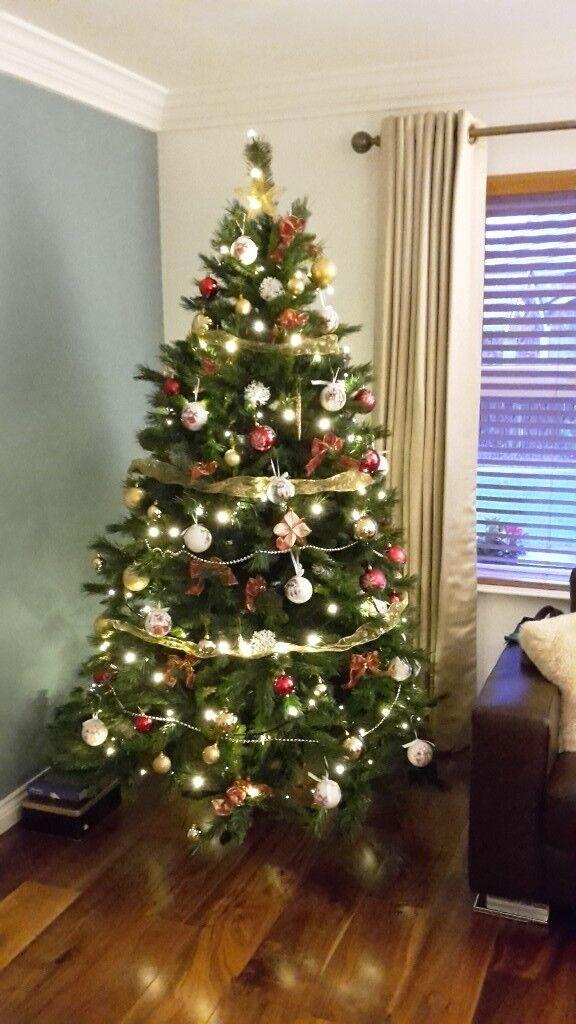 7 Foot Green Christmas Tree In Fivemiletown County Tyrone Gumtree
