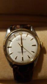 Rolex 1965 Steel & Gold Rolex Super Oyster 'Semi-Bubbleback' Wrist Watch