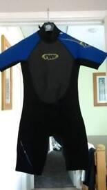 Mens med shorty wet suit 2mm
