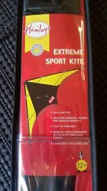 Hamleys Dual Line Extreme Sport Kite, 145 x 76cm, age 12+, UNOPENED AS NEW