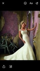 **Unworn Mori Lee Wedding Dress**
