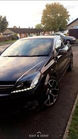 BLACK ASTRA SXI WITH VXR STYLING UPGRADES DRL LIGHTS 11month MOT