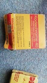Koda chrome 40 . sound colour movie film
