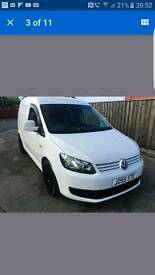 Vw caddy van 2011