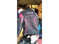 Tuzo motorcycle jacket. XS.