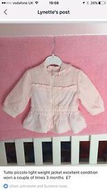 Various baby girl clothing