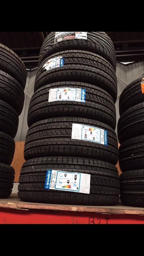 Tyre 255 35 18