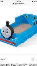 Fantastic Thomas tank engine toddler bed
