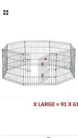 FOR SALE BRAND NEW EXTRA LARGE PUPPY PLAY PEN