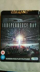 New & Sealed 4k UHD Blu-ray Independence Day 1996