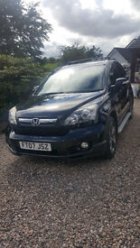 Honda CRV Ex-L i Cdti (mot oct 2017 and just serviced)