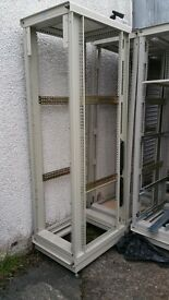 """19"""" server/laboratory/dj/comms/network rack cabinet, hp rittel 41u - 20 units priced to CLEAR"""