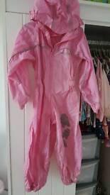 Regatta splash/puddle suit all in one