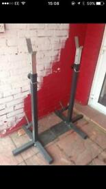 Heavy duty squat rack for sale
