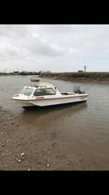 Seahog hunter 15ft boat with trailer