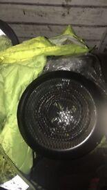 Five pin electric fan heater