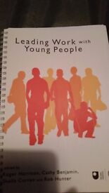 Open University E132 Leading work with young people course