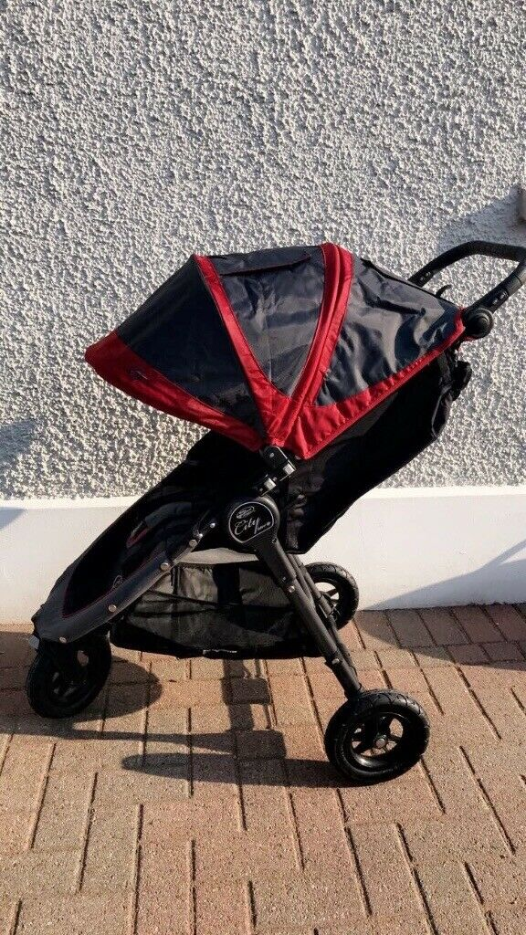 Baby Jogger City Mini Gt Pushchair Red Black With Carry Bag In Ballymena County Antrim Gumtree