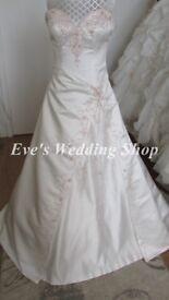 Alfred Angelo 1825 ivory wedding dress UK 12