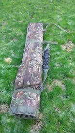 Camouflage rod bag..