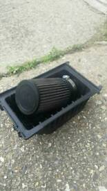 Mini Cooper S modified airbox