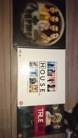 DVD boxsets, new, unopened