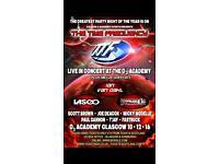 2 TTF Standard Tickets 02 Academy 10th Dec