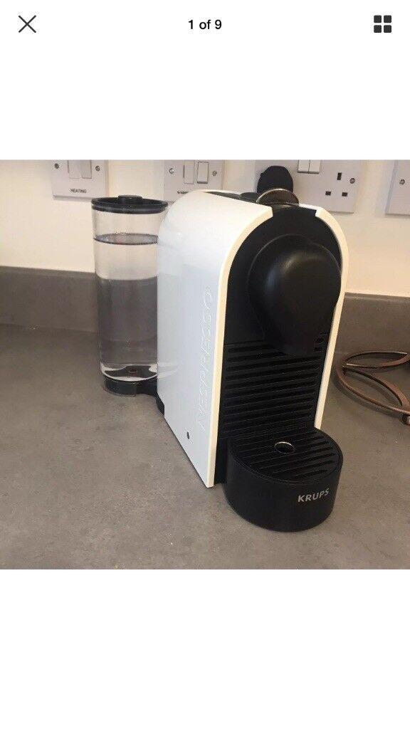 Nespresso Krups Cream Coffee Machine   in West Midlands   Gumtree
