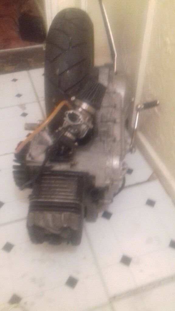 Piaggip typhoon 125 rolling nut engine and pm59 pipe | in Walthamstow,  London | Gumtree