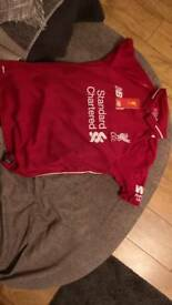Liverpool junior top age 13