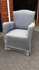Upholstery project - Vintage armchair