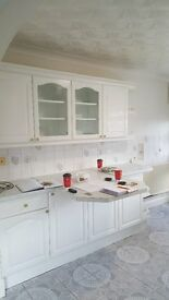 Nice looking white kitchen cabinets