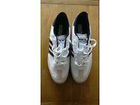 Adidas Samba Golf Shoes Blue/White UK Size 12 New without box.