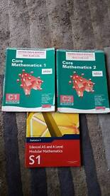 Range of A level text books