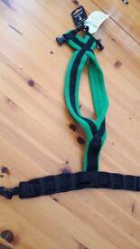 Dog-Games fleece harness green size 4