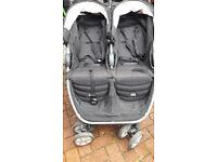 Britax B-Agile Double Stroller Black