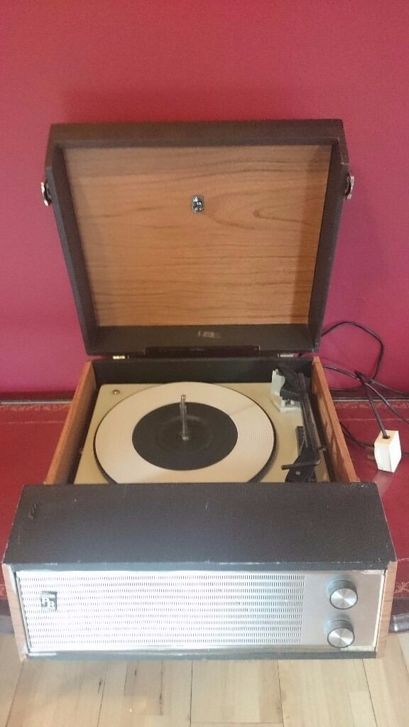 Vintage Dansette Record Player By Portadyne For Sale In